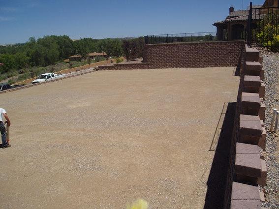 Post Tension Concrete Tennis Courts